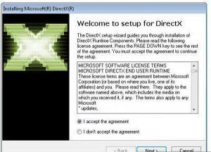 تحميل برنامج DirectX 9