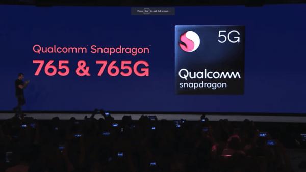 معالج Qualcomm Snapdragon 765