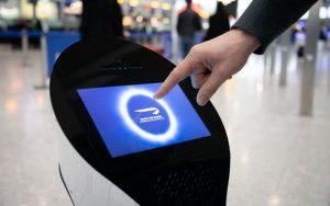 استخدام الروبوت بيل فى مطار هيثرو
