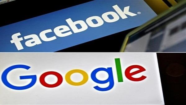إستحواذ جوجل وفيس بوك على الاعلانات