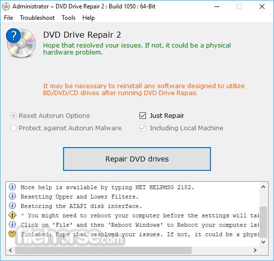 تحميل برنامج DVD Drive Repair